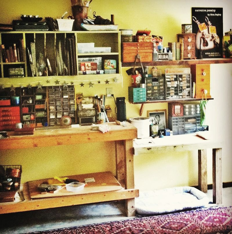 Studio filled