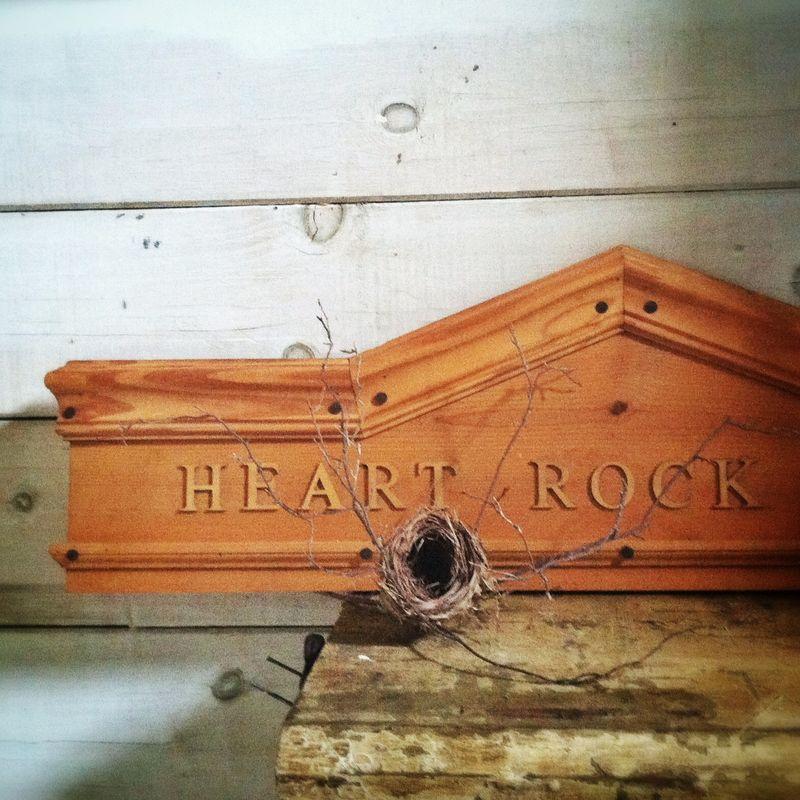 Heart rock hill