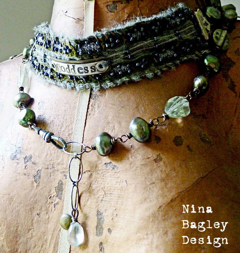 Goddess wrap on abi nina bagley