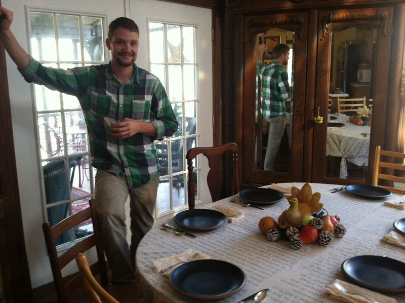 Roy at thanksgiving