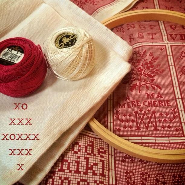 Charlotte's fabric