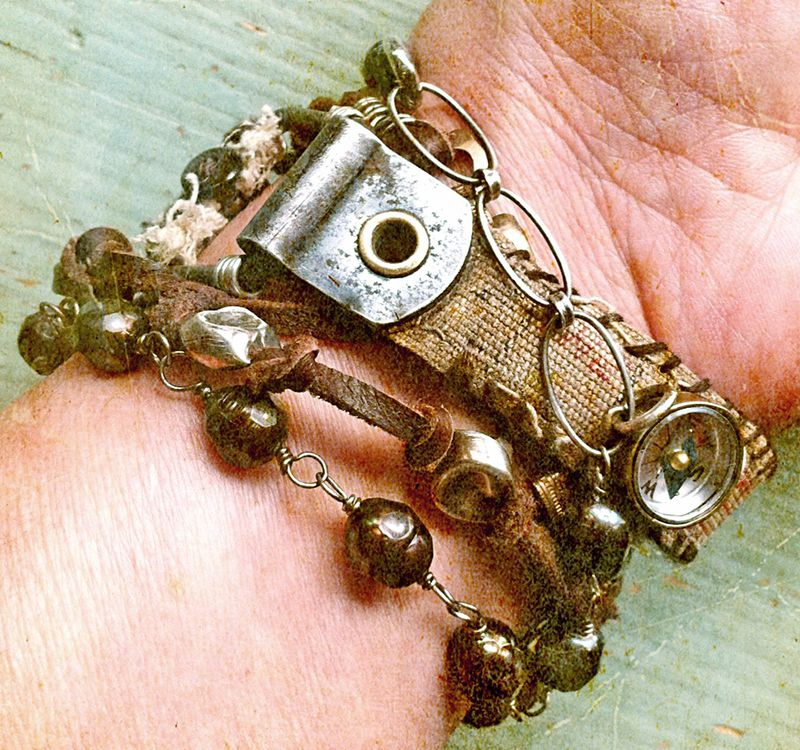 Bracelet wrap backside