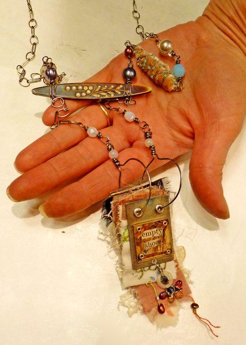 Workshop necklace - kelly