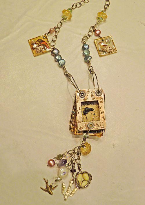 Workshop necklace - lori b 1