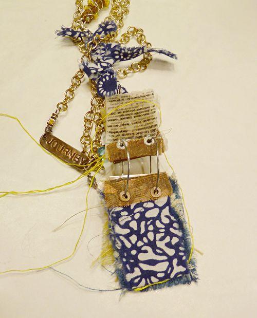Workshop necklace - mystery artist open