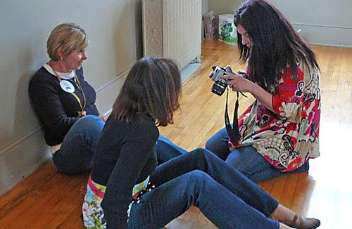 Renee, lisa, julie in gatherings