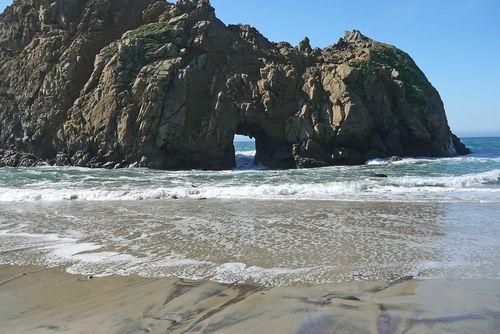 Pfeiffer beach passage