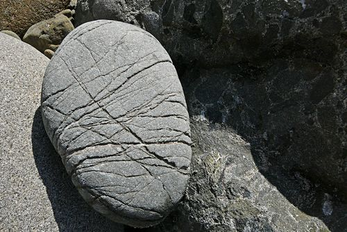 Pfeiffer beach rock
