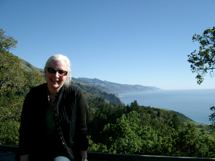 Lunch at Nepenthe, Big Sur