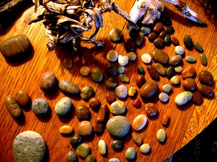 Moonstone beach treasures