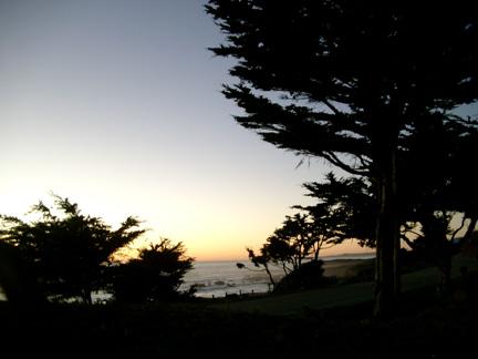 Sunset Moonstone Beach
