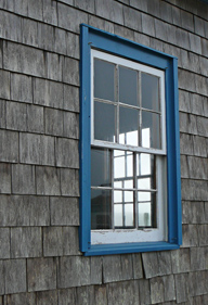 window in the flog