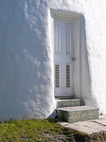 another view of lighthouse door