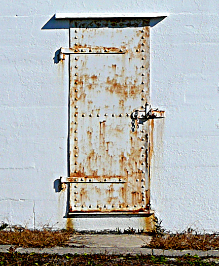 lighthouse shed door