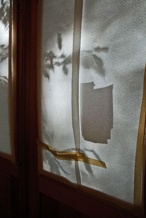 Front doors of studio
