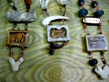 Betsys, Linda's, Glory's Necklaces