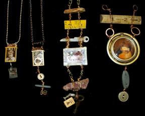 Belinda Spiwak's necklaces