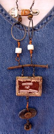 Lori Larson's necklace