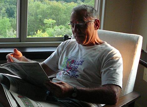 Bill relaxes