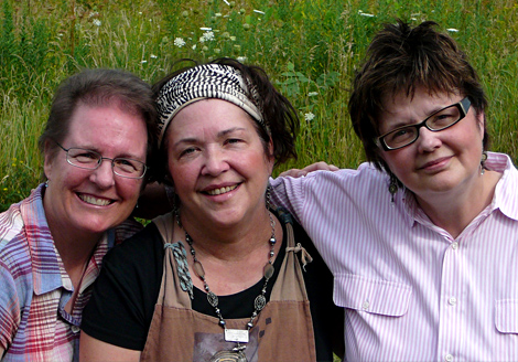 With lisa and linda